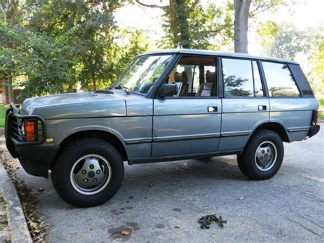 how things work cars 1991 land rover range rover lane departure warning 1991 land rover range rover classic 3 9l classic land rover range rover 1991 for sale