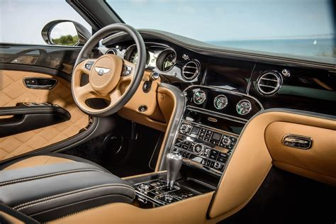 luxury cars inside bentley mulsanne speed interior luxuo