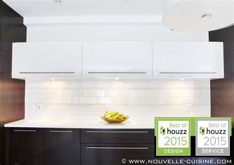 acrylic kitchen cabinets and quartz countertops