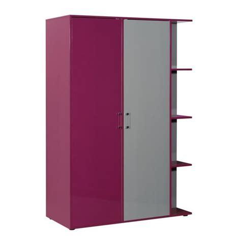 armoire design chambre chambre gris et fuchsia