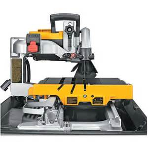 dewalt d24000s 10 in tile saw with stand