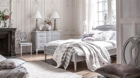 chambre style shabby décoration chambre gustavienne