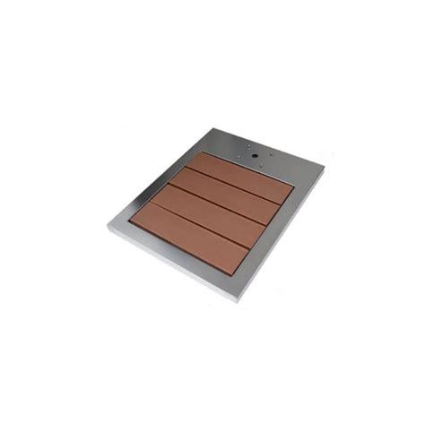 piatto doccia inox piatto doccia in acciaio inox e legno esotico