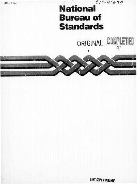 us bureau of standards national bureau of standards 28 images the principles
