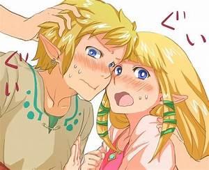 Skyward Sword Link & Zelda Kiss ~ ♥ on We Heart It