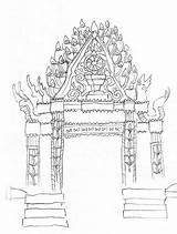 Monastery Drawing Getdrawings Drawings sketch template