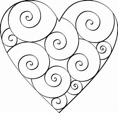 Heart Printable Templates Diy Stencils