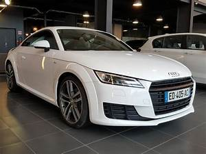 Audi Tt 3 Occasion : audi tt coupe occasion essence blanc ibis 2016 brest bretagne 1 8 tfsi 180 s line s tronic 7 ~ Maxctalentgroup.com Avis de Voitures