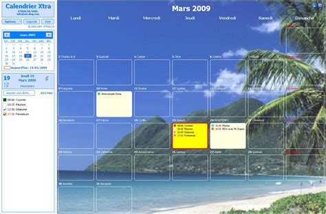 telecharger un bloc note pour le bureau calendrier gratuit logiciel calendrier et agenda à