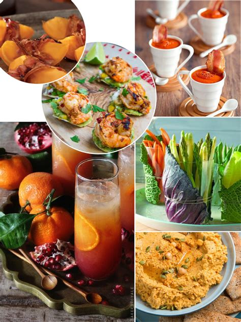 Healthy Thanksgiving Appetizers & Cocktails  Party Ideas