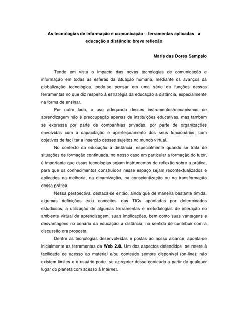 10571284 as-tecnologias-de-informacao-e-comunicacao-na-ead