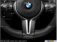 32302413014 F87 M2 BMW M Performance Steering Wheel