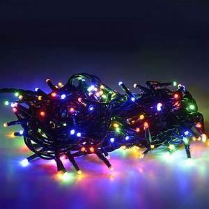 500 Luci di Natale a led multicolore 40 mt Interno ed Esterno