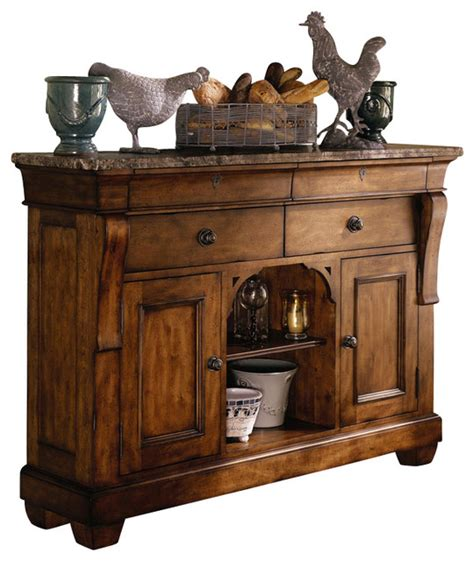 Best Sideboards by Tuscano Solid Wood Sideboard With Marble