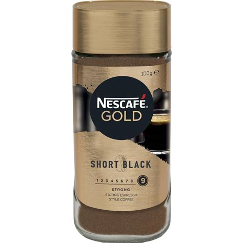 Some things are just better together, like two halves of a whole. Nescafe Gold Short Black Espresso Instant Coffee 100g ...