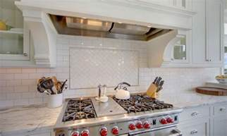 photos of backsplashes in kitchens kitchen backsplashes dazzle with their herringbone designs