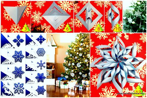 christmas diy paper snowflake projects dd  beautify