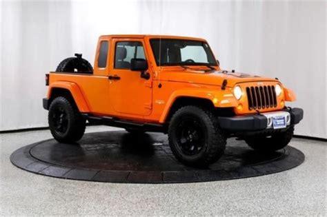 jk8 jeeps for sale 2012 jeep wrangler jk 8 pickup for sale craigslist used