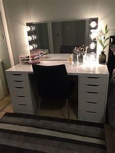 25 Bsta Ikea Makeup Vanity Iderna P Pinterest