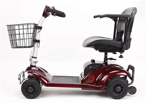 270w Four Wheel Scooters Elderly 4 Wheel Electric Mobility