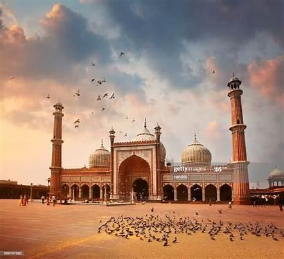 Masjid Mosque Delhi Jama India Getty Royalty