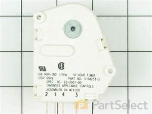 Whirlpool Wp68233-3 - Defrost Timer