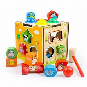 Baby Animal Cognition Toys For Children Wooden Classic