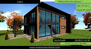 votre maison loft patio ou container modulaire par votre With plan maison avec patio 17 maison container modulaire ossature bois d architecte