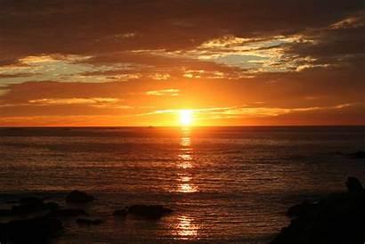 Ocean Sunset Sunrise Wallpapers Beach Rise Desktop
