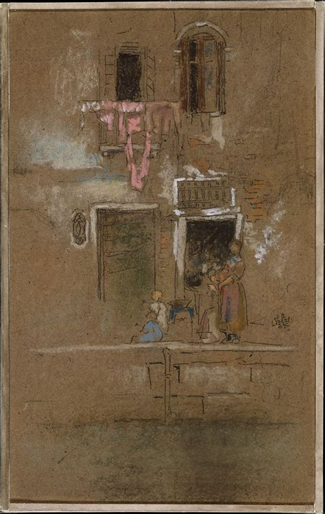 james mcneill whistler note  pink  brown american