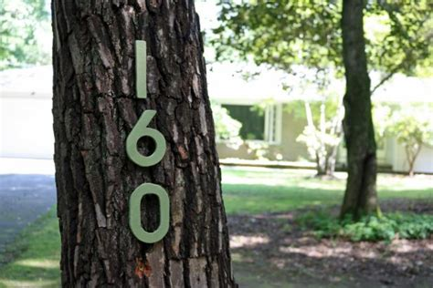 add curb appeal  diy cement board house numbers diy