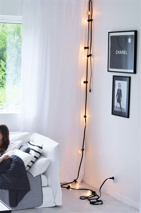 awesome diy string light ideas