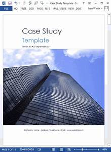 19 Case Study Templates  Ms Word    How To Write Tutorial