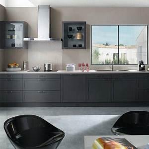 cuisine valentine teissa marie claire maison With quel mur peindre en fonce 16 quelle couleur mettre avec une cuisine grise