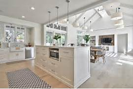 Country Kitchen By Redbud Custom Homes Kitchen Island Under Base Cabinet At Kitchen As Well As Kitchen Modern Country Kitchen With Shaker Style Island Kitchen Design Ideas Kitchen Island Cabinetry Kitchen Island Cabinet Ideas KitchenIsland