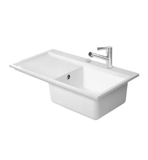flush mount kitchen sinks duravit kiora 50 flush mount kitchen sink 7517900027 3498