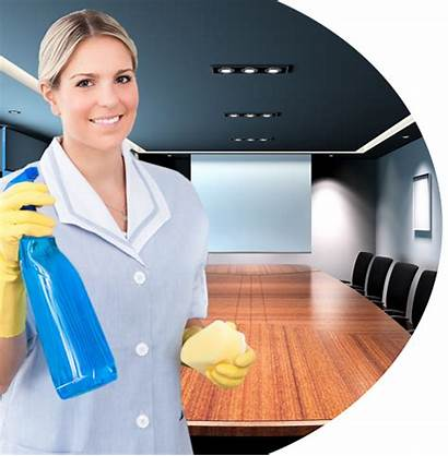 Cleaning Office Lady Services Professional Table Commercial