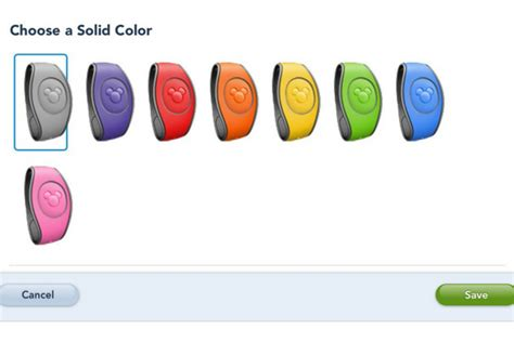 disney bands colors disney details magicbands dining fastpass walt