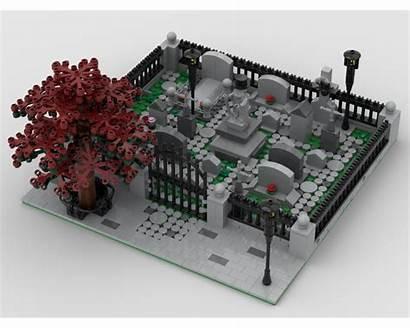 Moc Modular Lego Church Instructions Mocs Custom
