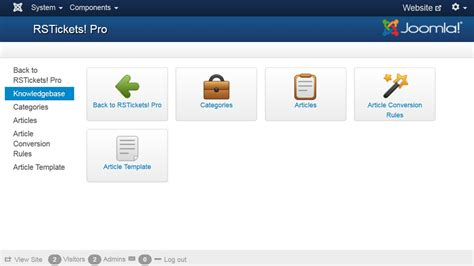 service desk ticketing system joomla helpdesk ticketing system rstickets pro