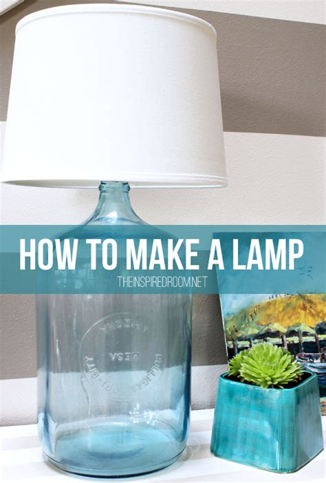 how to make a l diy bottle l the inspired room