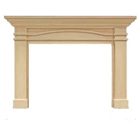 majestic portico flush mantel primed mdf afpompc