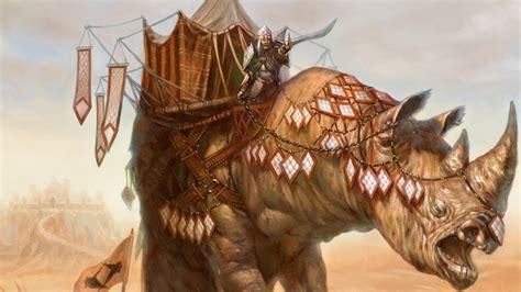 siege rhino multi format  star magic  gathering