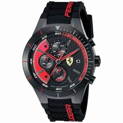 Ferrari Watches Evo Steel Stainless Strap Rubber