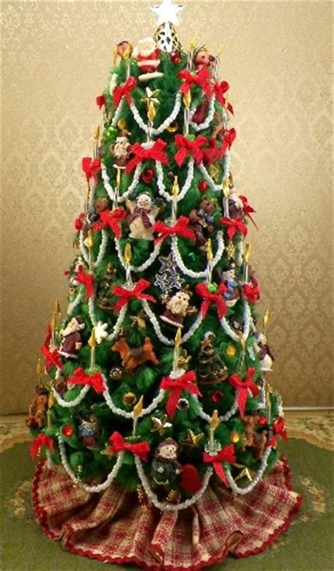 dollhouse miniature christmas tree www ruthellens