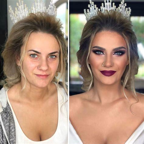 16 avant après qui montrent le pouvoir du maquillage . So Busy Girls