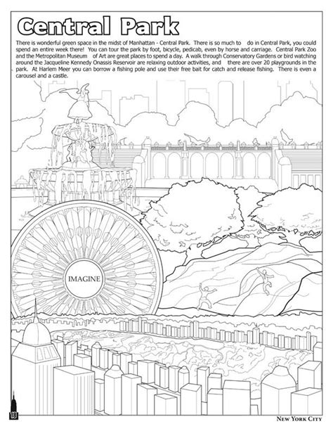 Coloring Books | New York City - The Big Apple - Coloring Book