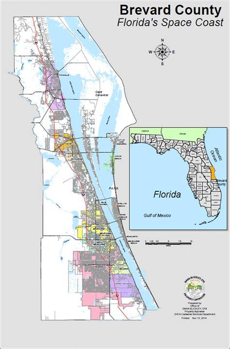brevard county florida map world map gray