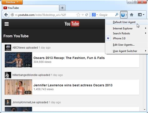 user agent browser using websites access desktop mobile process extensions even similar ilicomm