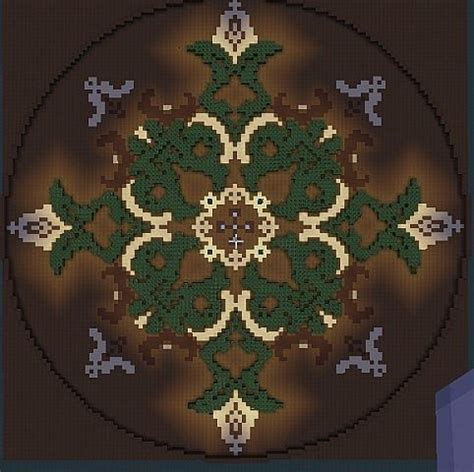 Minecraft Circle Floor Designs by Floor Design Garden Minecraft Project